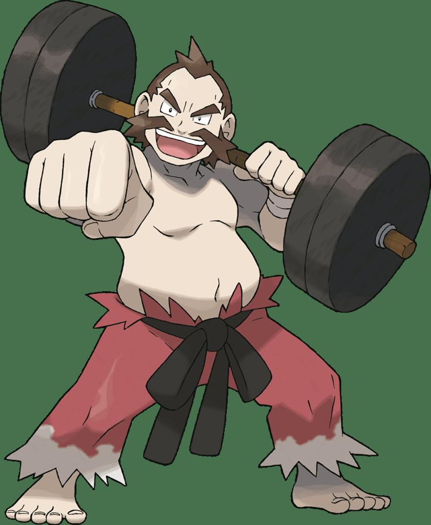 Chuck, Cianwood Gym's Leader