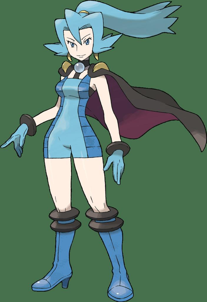 Clair, Blackthorn Gym's Leader
