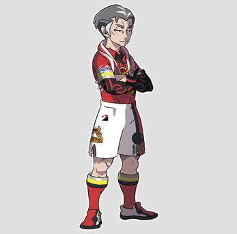 Kabu, Motostoke's Gym Leader