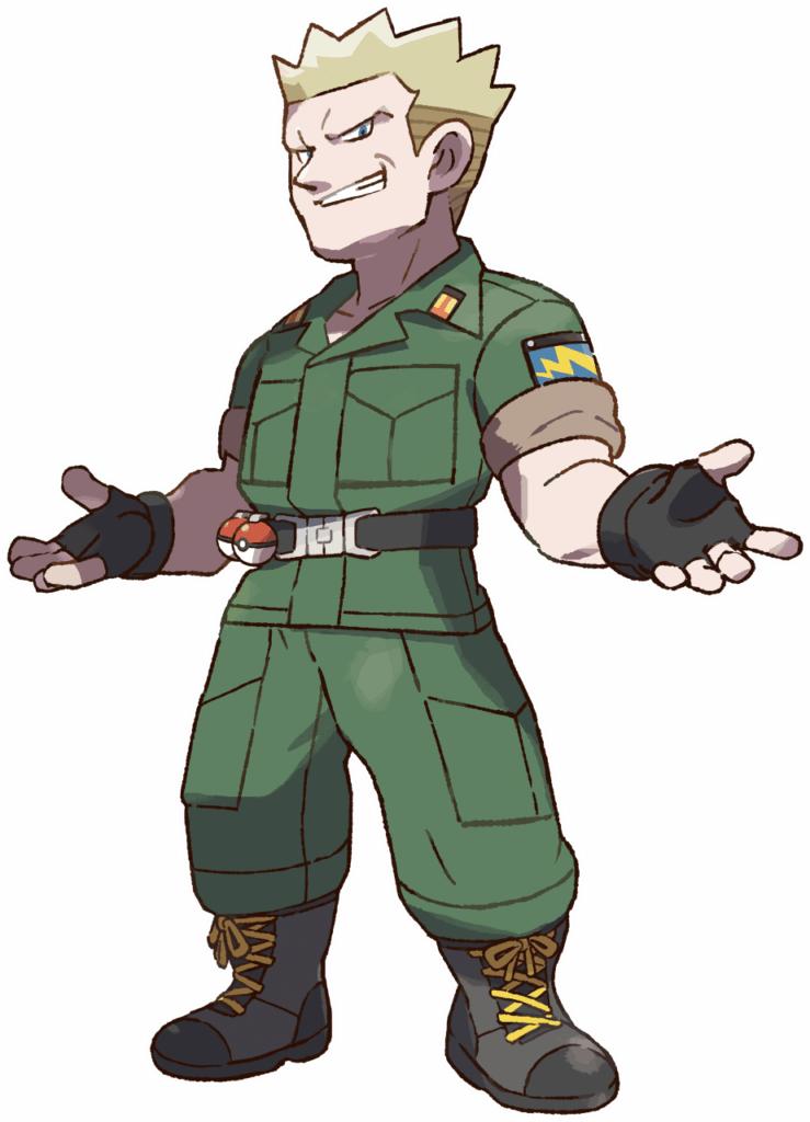 Lt. Surge, Vermillion Gym's Leader