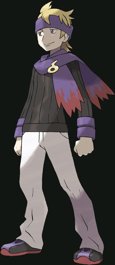Morty, Ecruteak Gym's Leader