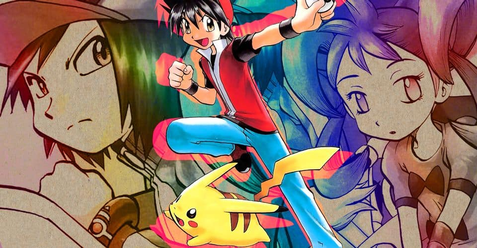 Pokemon Adventures Manga Series