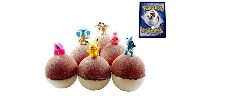 Pokémon Bath Bombs