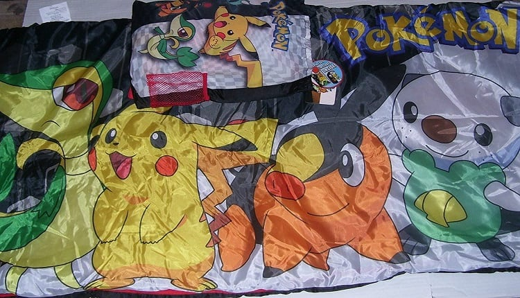 Pokémon Beanbags, Sleeping Bags, and Beds