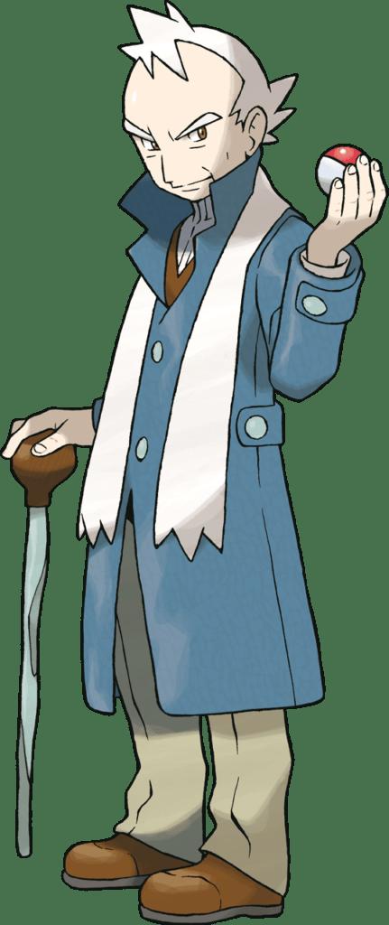Pryce, Mahogany's Gym Leader