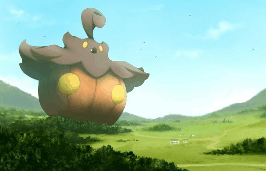 Pumpkaboo in Pokemon