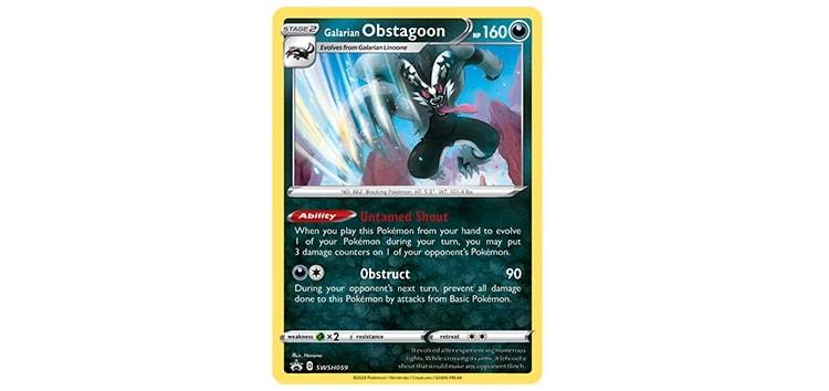 Trading Card Obstagoon