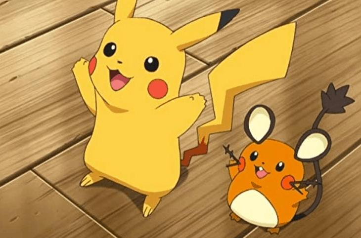 pikachu in movie