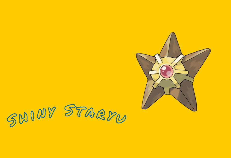 Shiny Staryu Guide