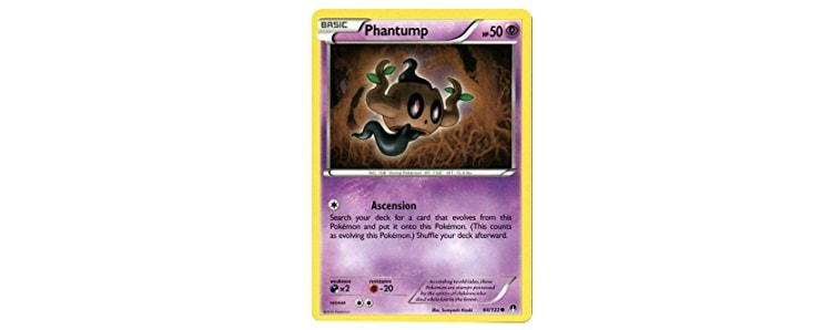 Phantump Summary of Appearances in Pokémon Versions and Media