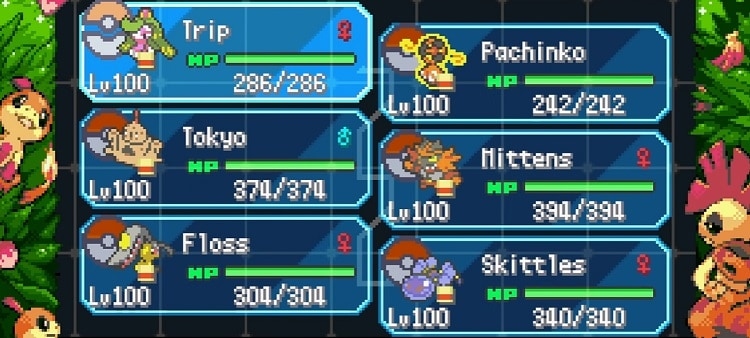 The Borrius Pokemon League